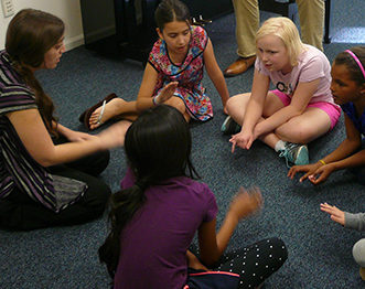 Introductory Voice class for young kids